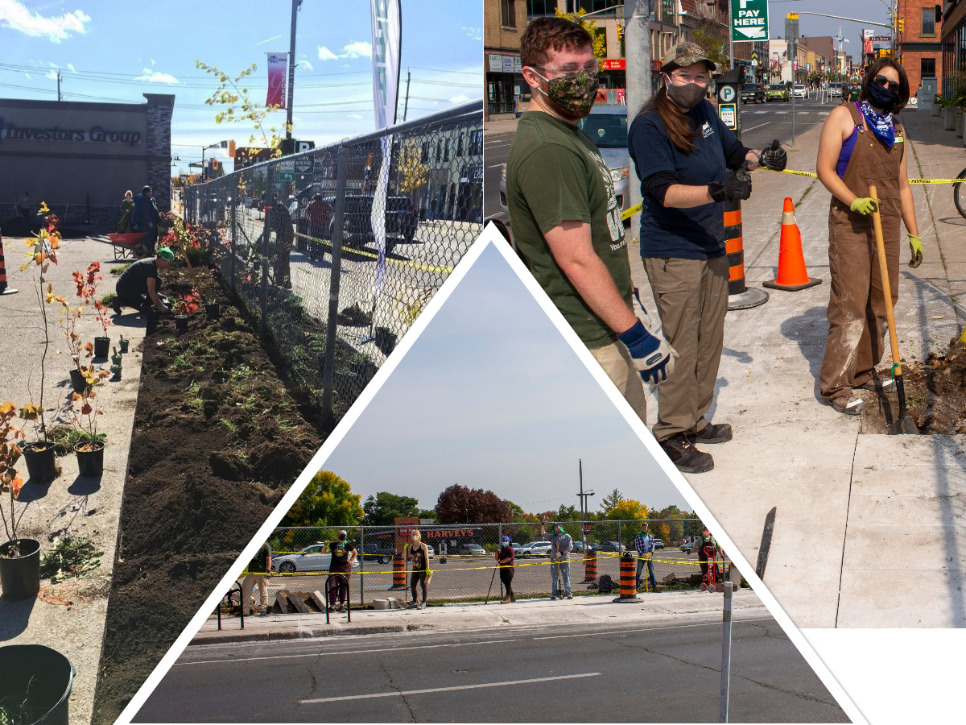 No more pavement in downtown Peterborough