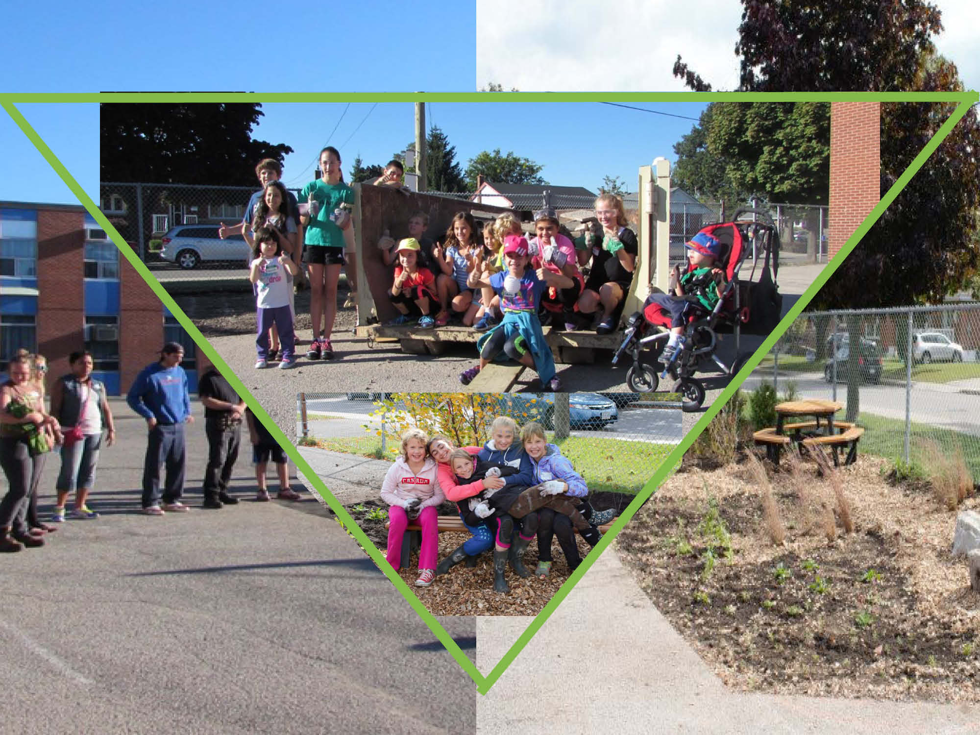 Outdoor learning without pavement